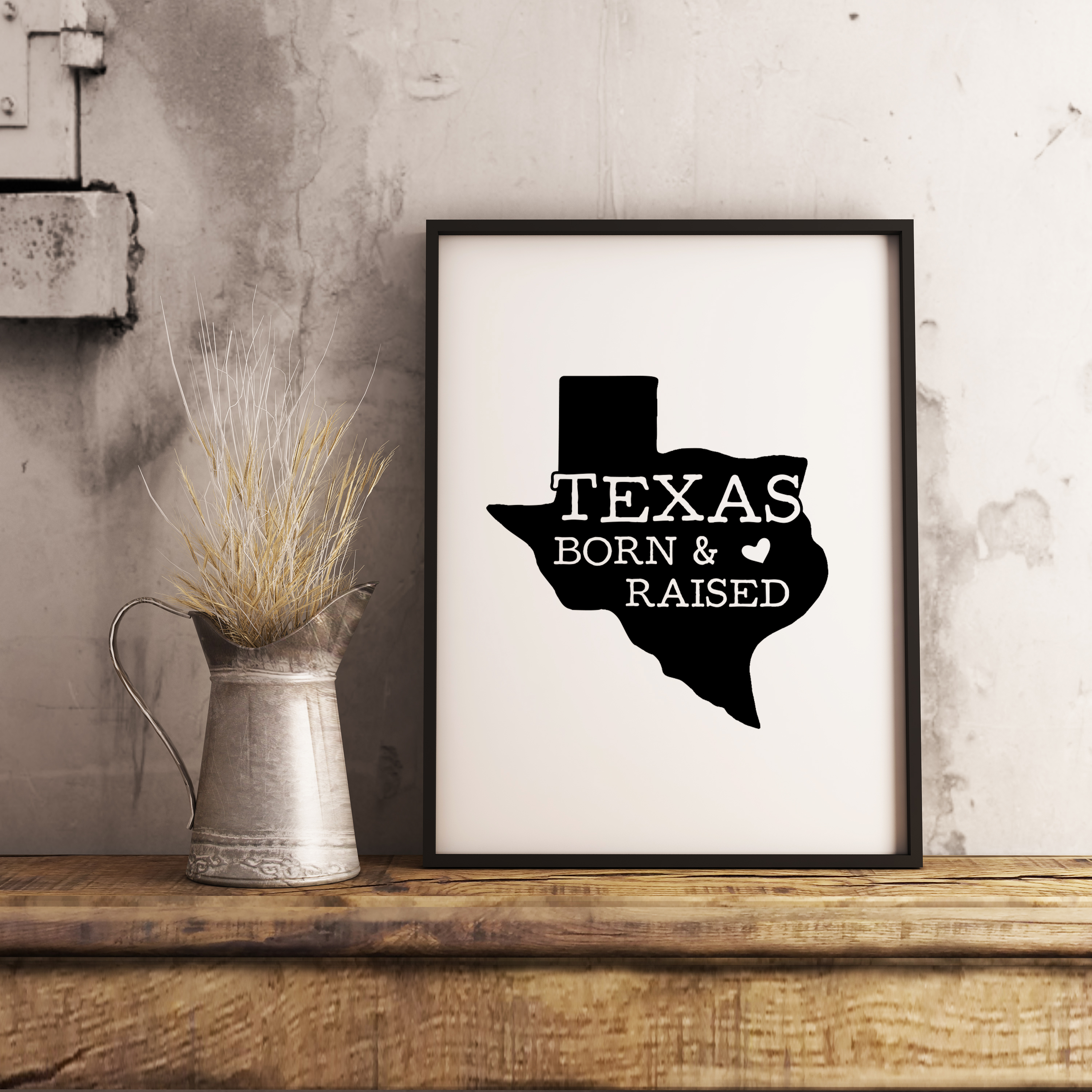 Texas State Badge / Vintage US T-Shirt American SVG Cut File example image 4