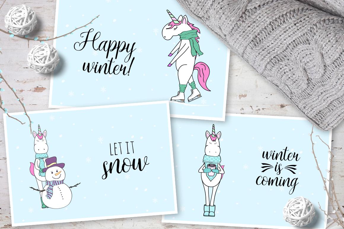 Unicorn's winter  example image 4