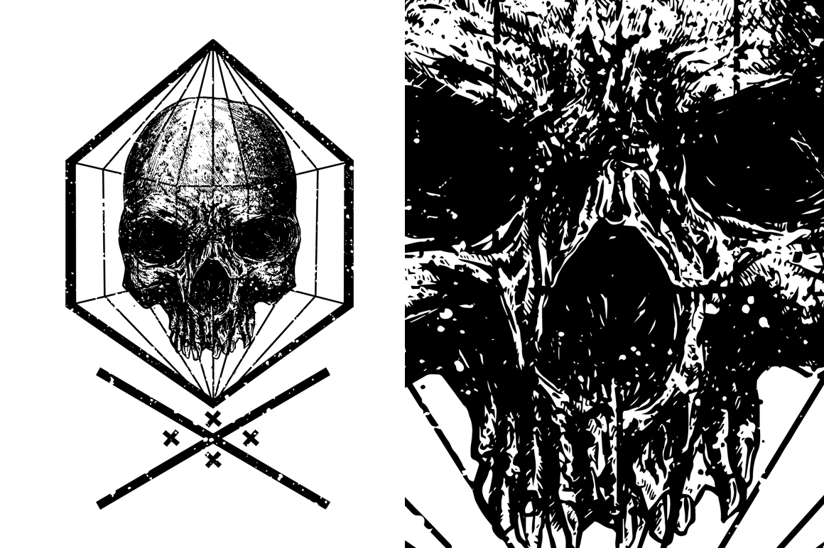 7 design skull VECTOR example image 6