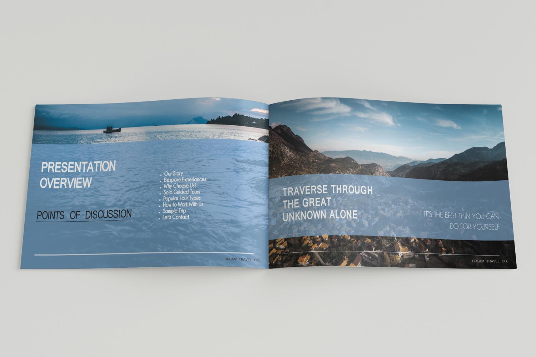 Travel Agency Printable Catalogue - A5-26 PSD Templates example image 3