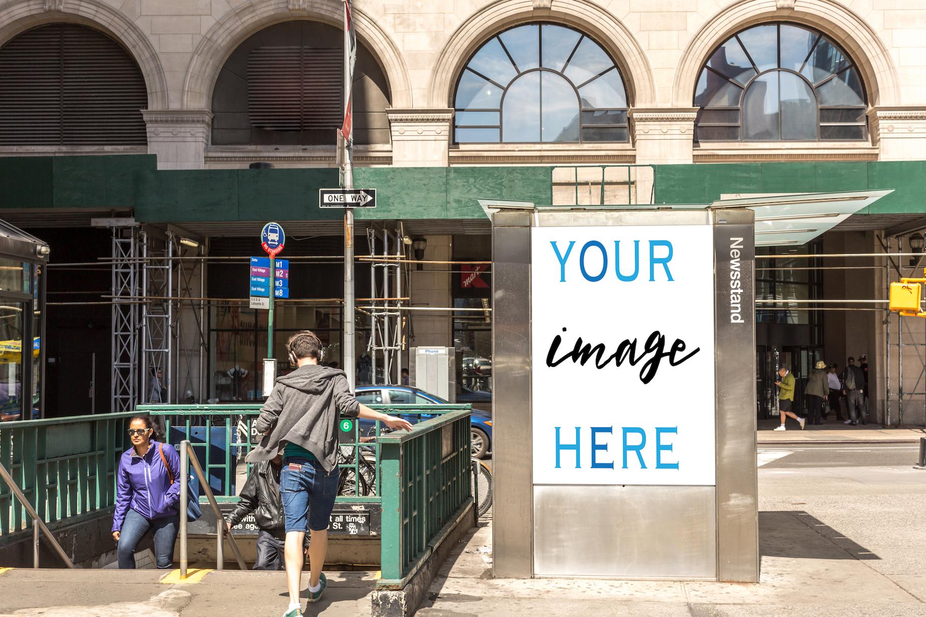 Set of 11 advertising billboard example image 3