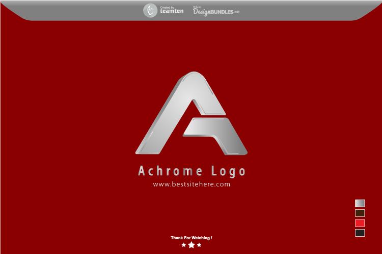 Achrome Logo Concept example image 3