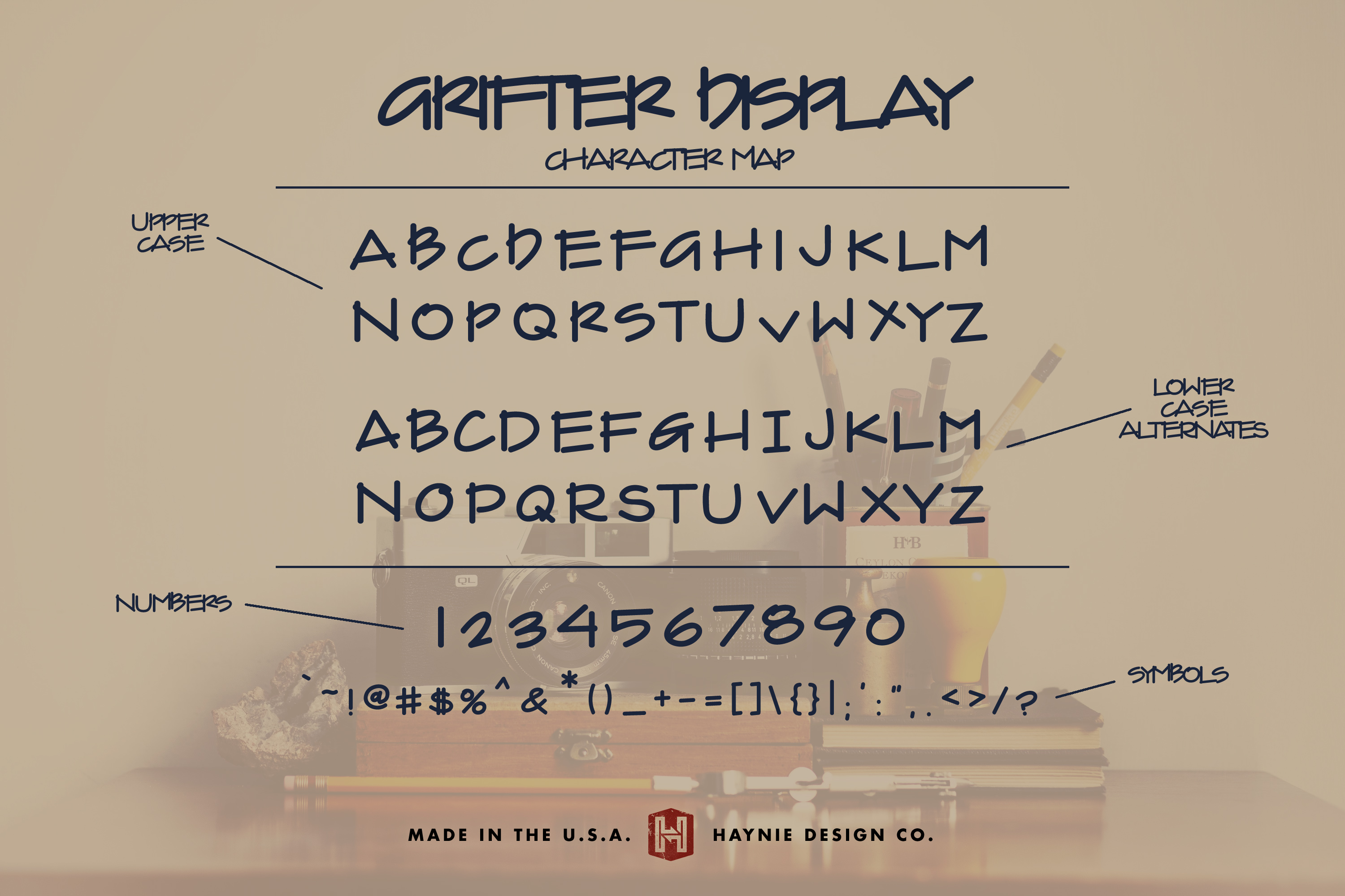 Grifter Architect Blueprint Handwriting Font example image 7