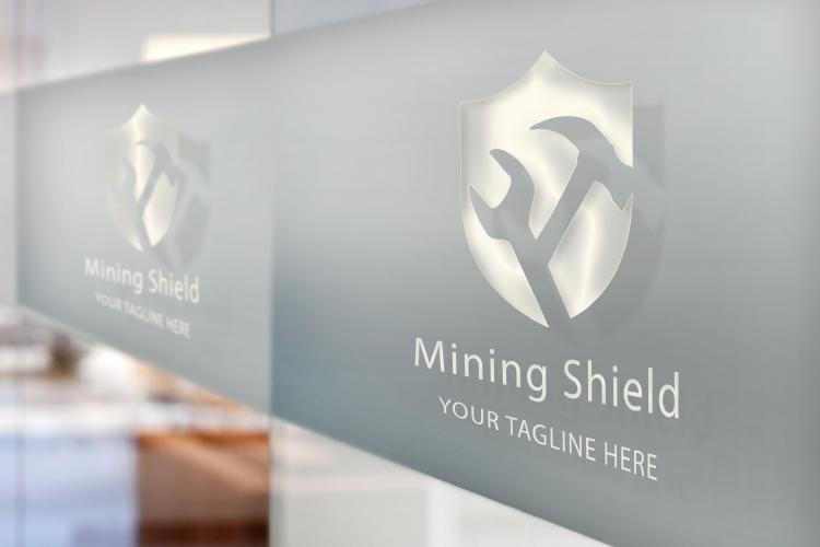 Mining Shield Logo example image 4