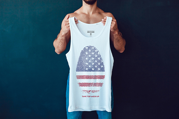 Tank-Top Mock-Up example image 7