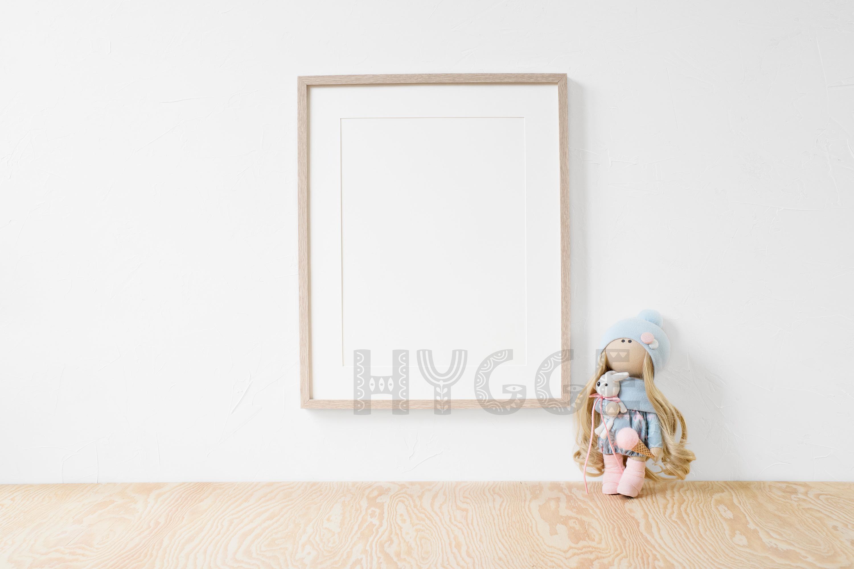 Nursery Frame Mockup, Simple Poster Mock Up, Christmas Frame example image 2