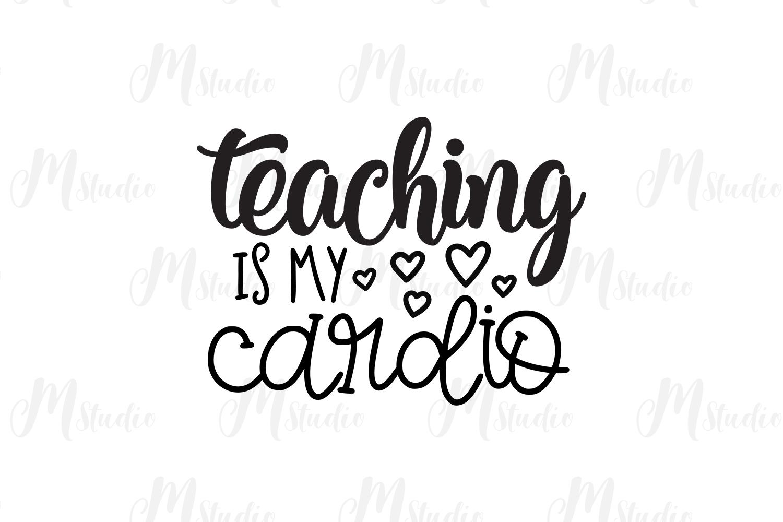 Teacher SVG Bundle. example image 29
