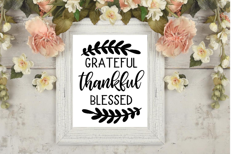Thanksgiving SVG Bundle | 30 Designs example image 8