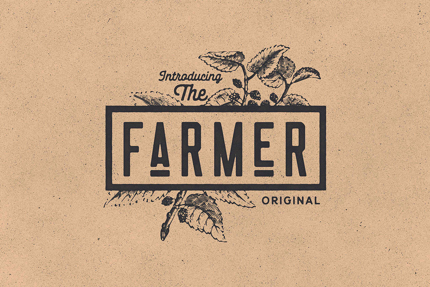 Nomads -The Farmer Original Typeface example image 3