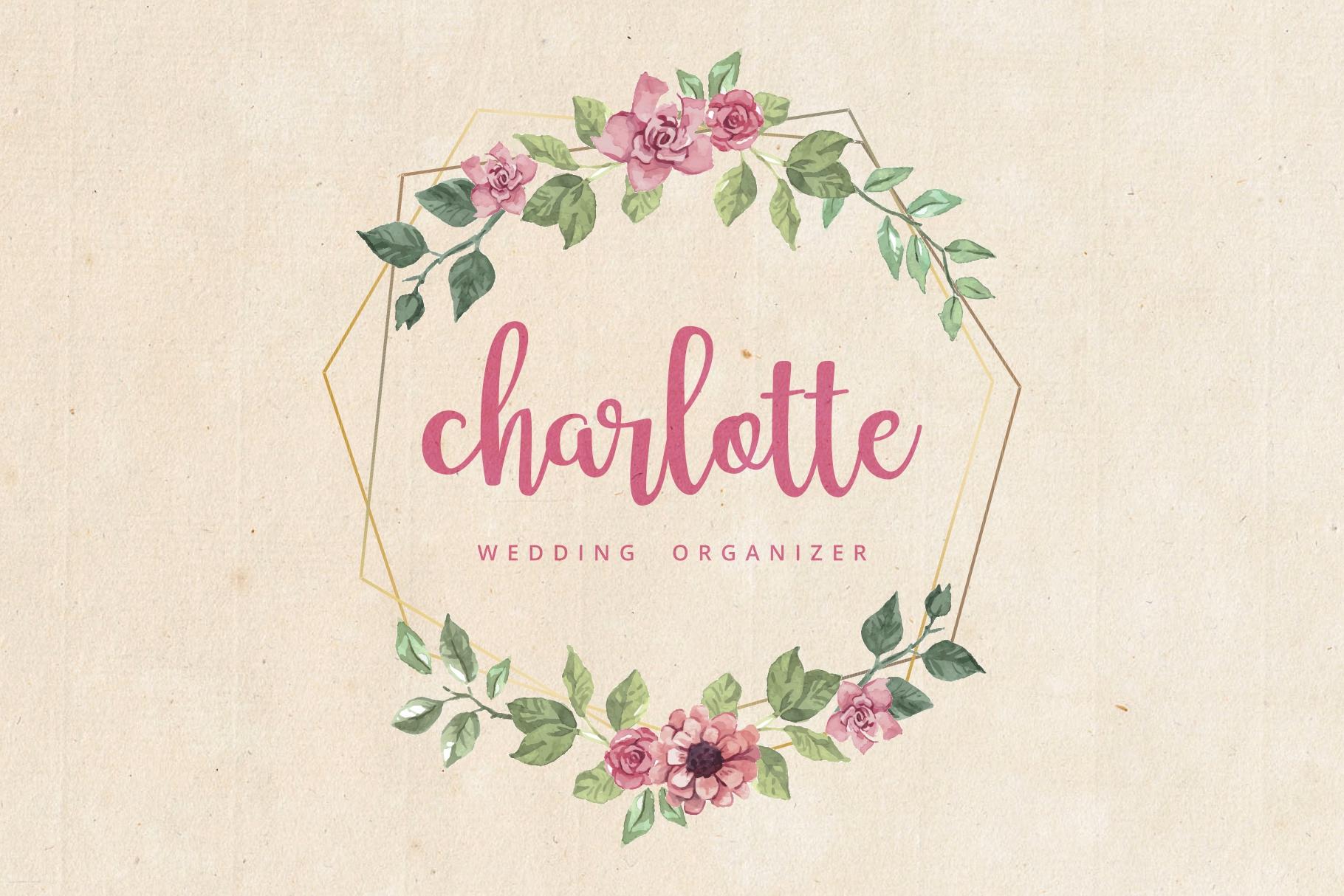 Adelline | beautiful elegant font example image 5