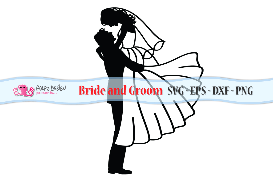 Bride and Groom SVG example image 2