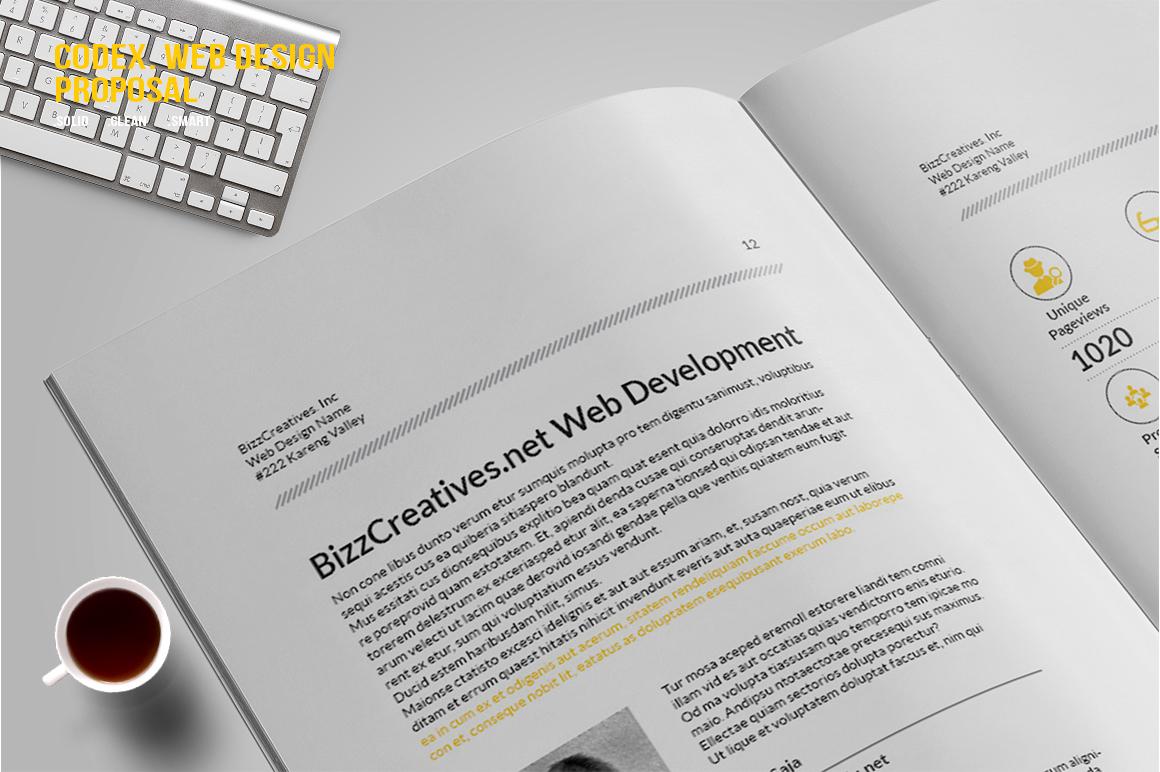 CODEX. Web Design Proposal example image 6