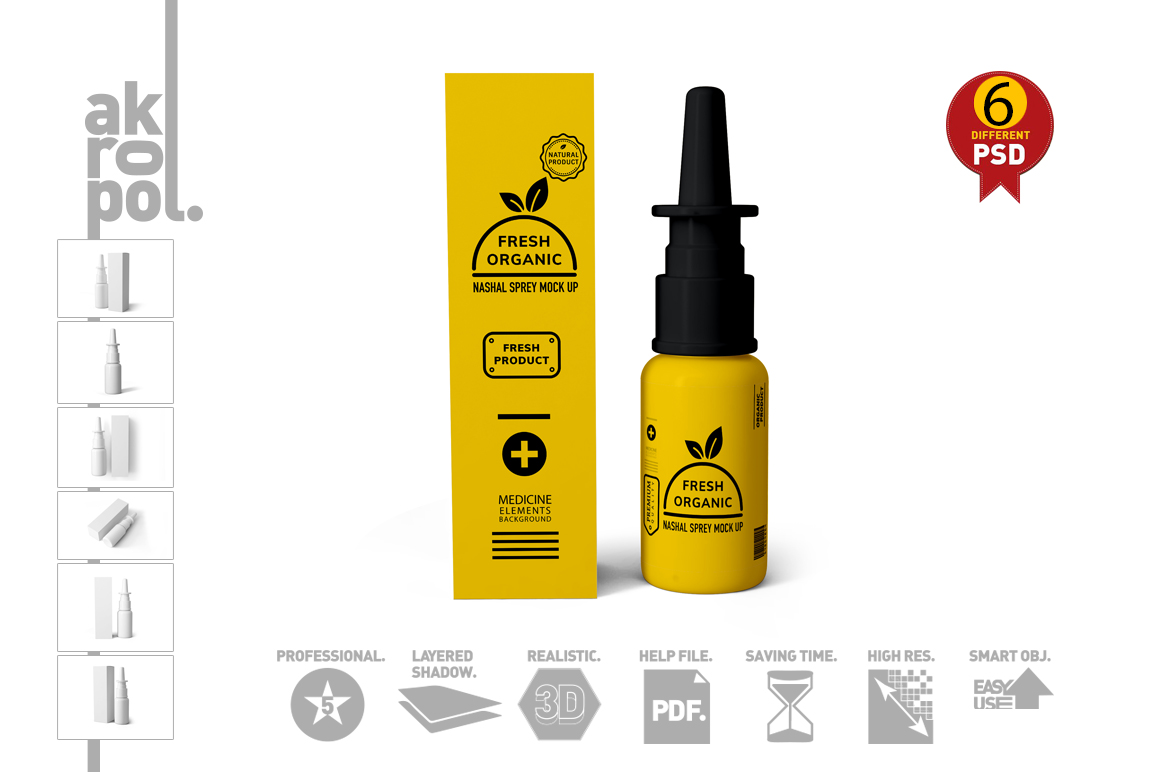 Nasal Spray Mock Up example image 5