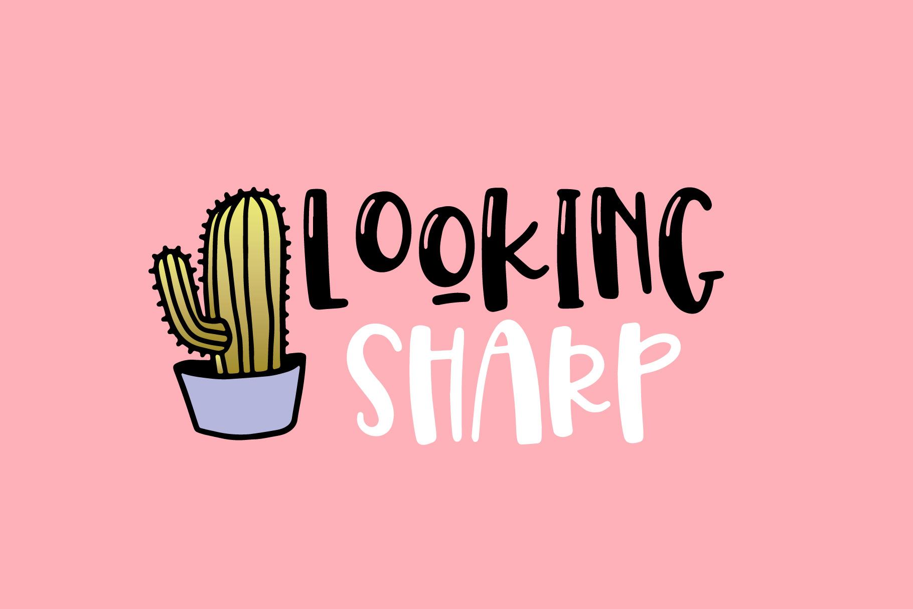Spring Cactus example image 3