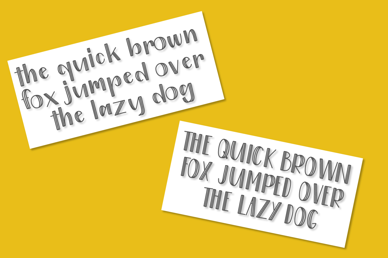 Patchwork - Double Inline With Doodles Font Duo example image 3