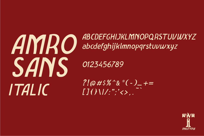 Amro Sans example image 7