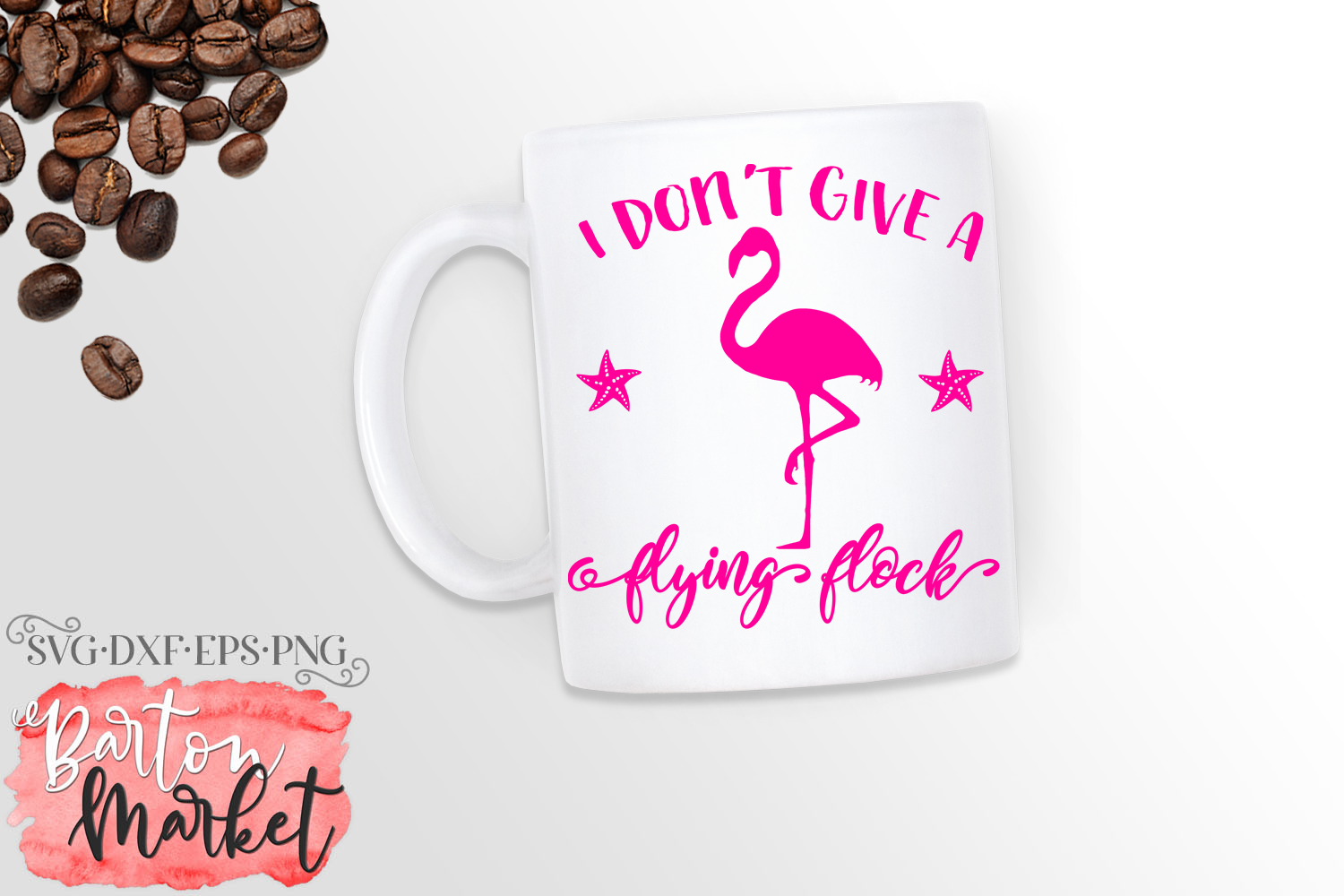 I Don't Give A Flying Flock SVG DXF EPS PNG example image 2