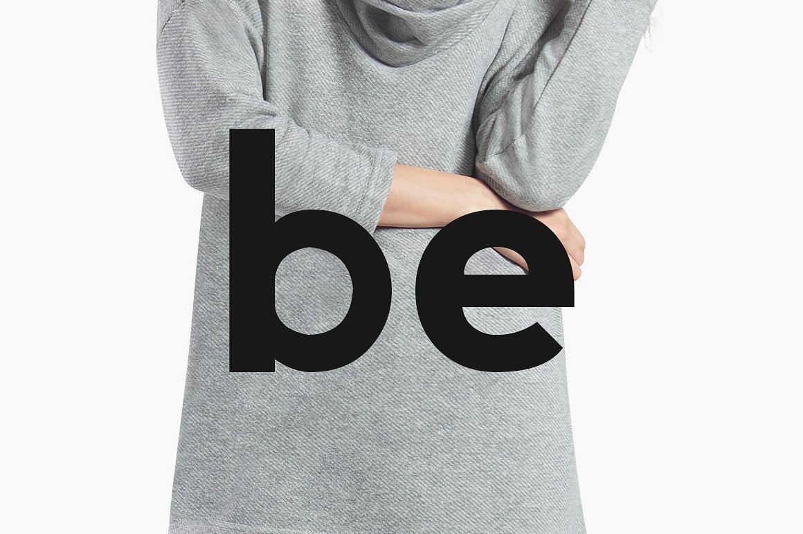 BERLIN - Minimal Typeface & Web Fonts example image 9