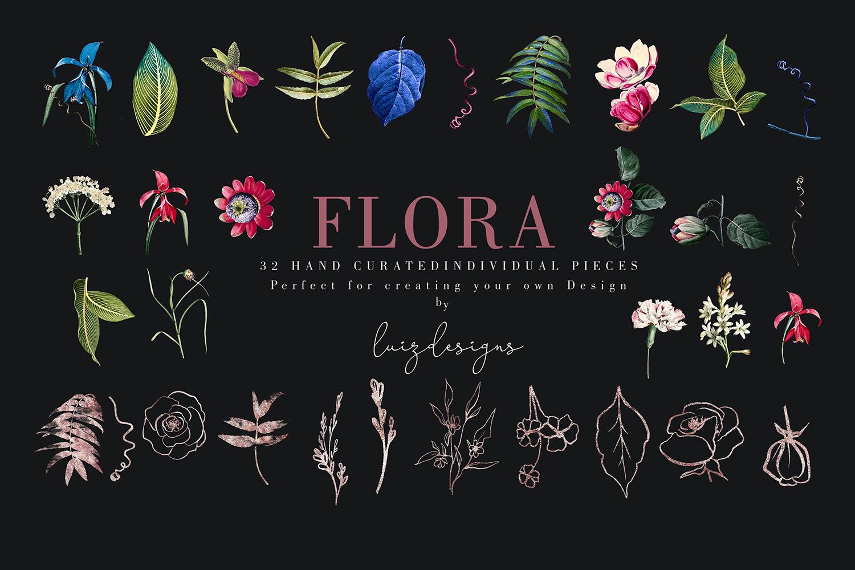 Flora| Arrangements vintage and gold Rose example image 2
