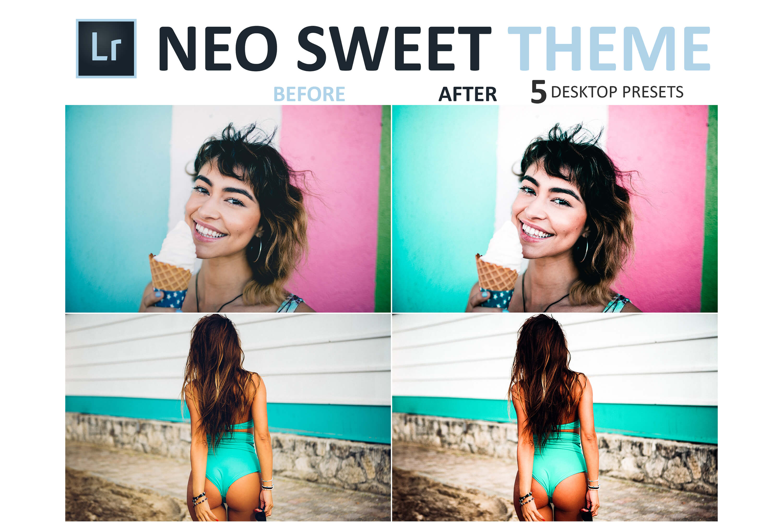 Neo Sweet Theme Desktop Lightroom Presets example image 4