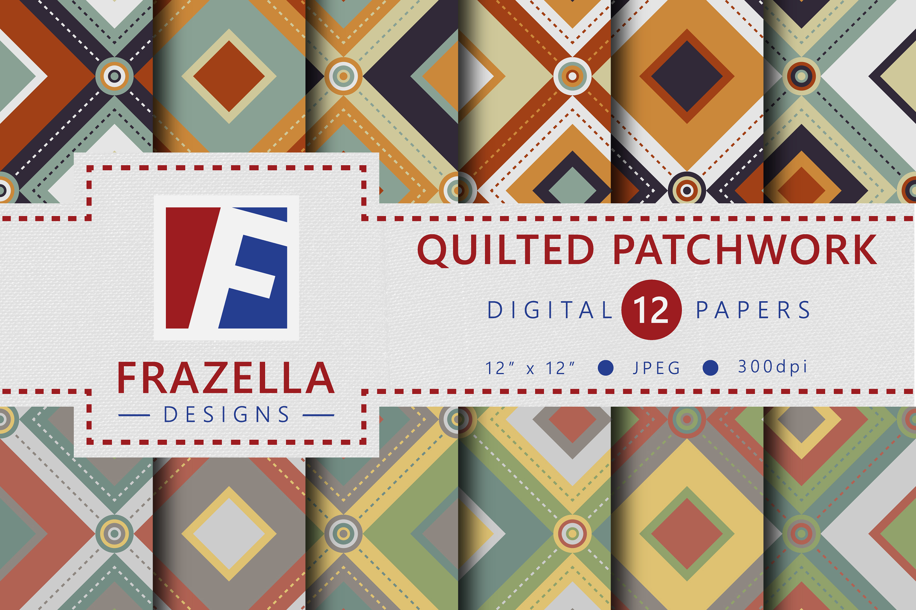 The ULTIMATE Digital Paper Collection Retro Edition Vol. 3. example image 8