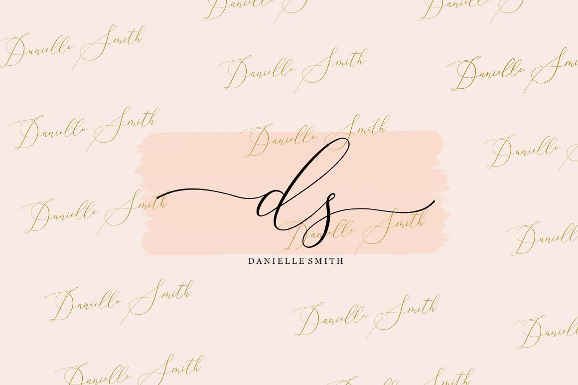 Elise Dafisa - Elegant Script Font example image 4