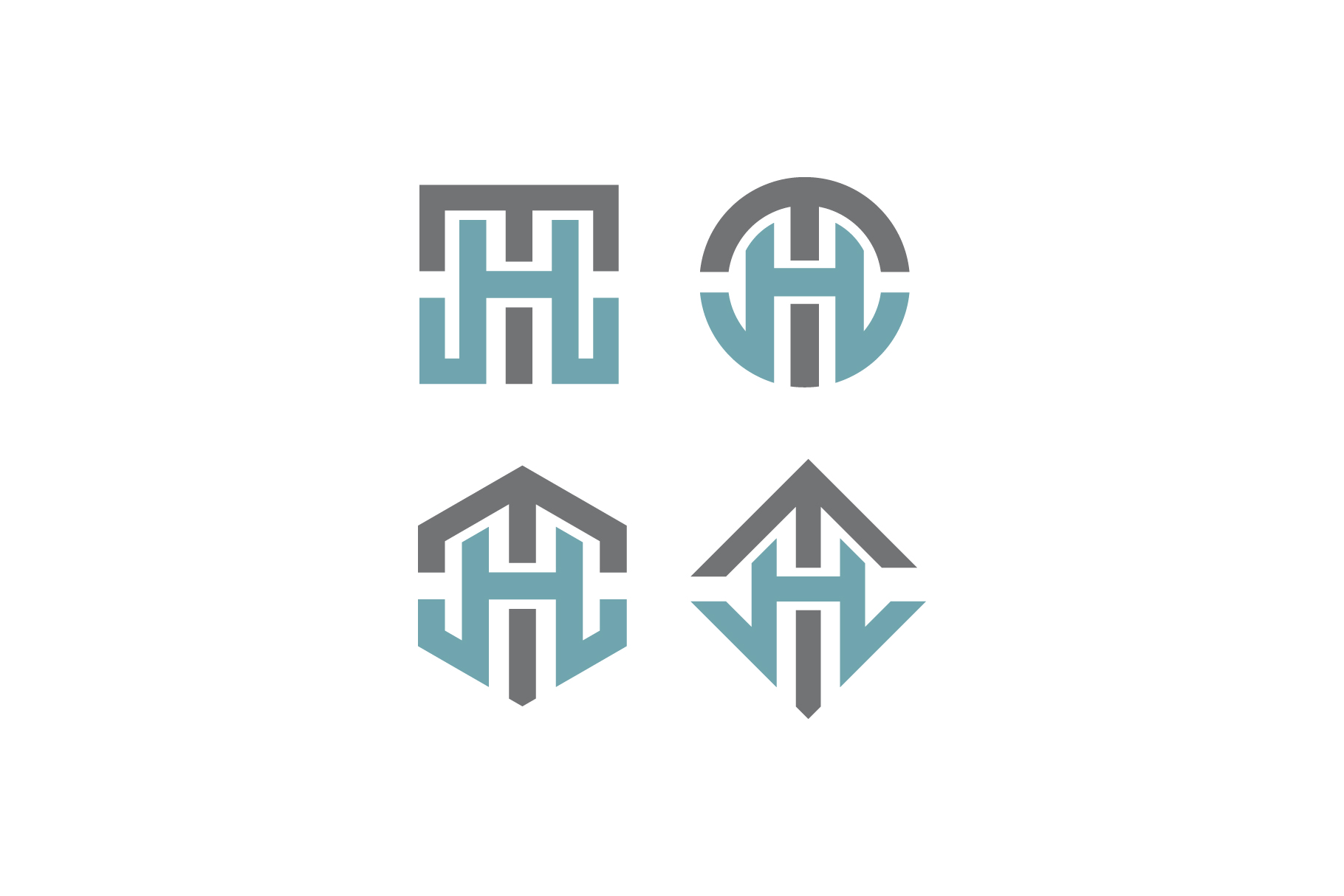 TH/HT initial logo example image 1