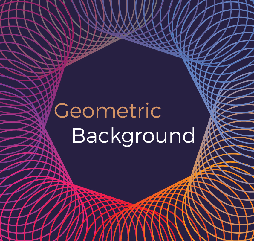 Geometric vector backgrounds example image 6
