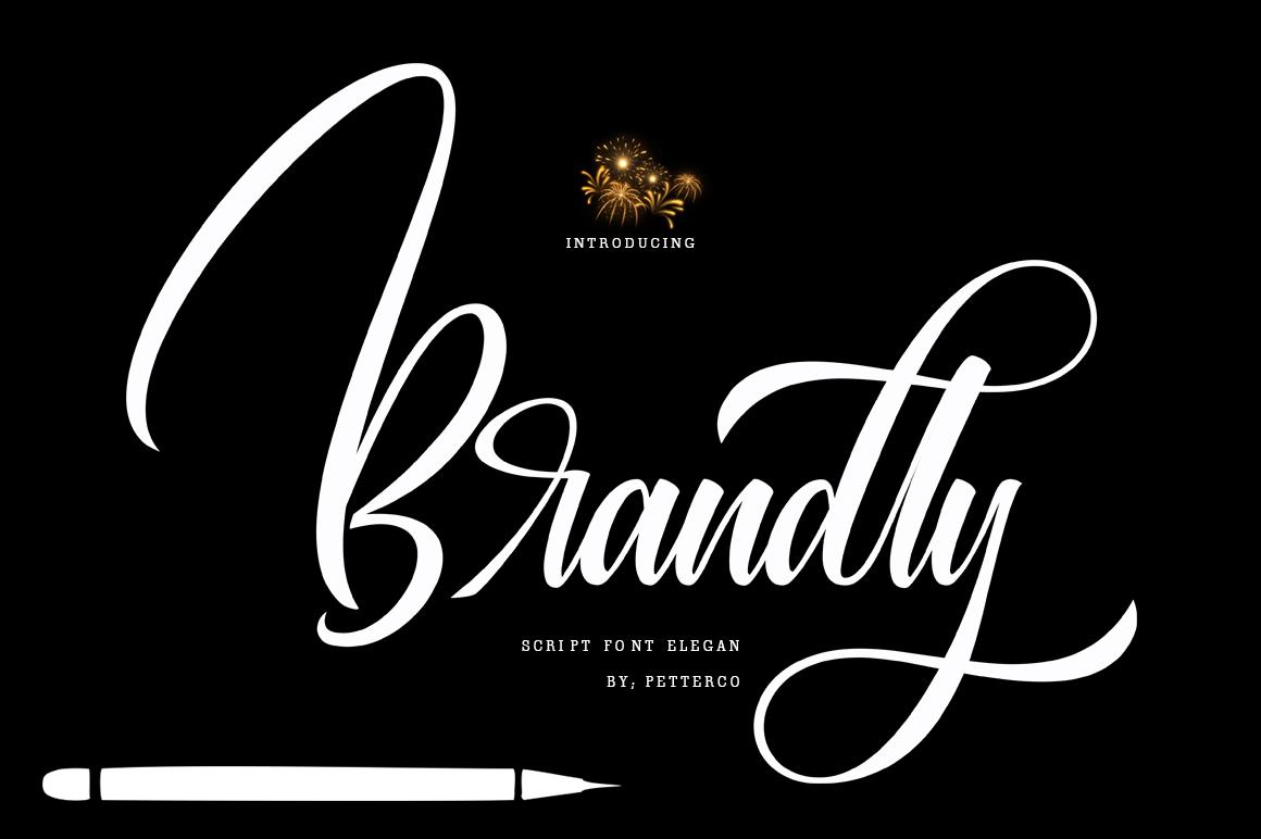 Sweeth Calligraphy Design - Font Bundles example image 7