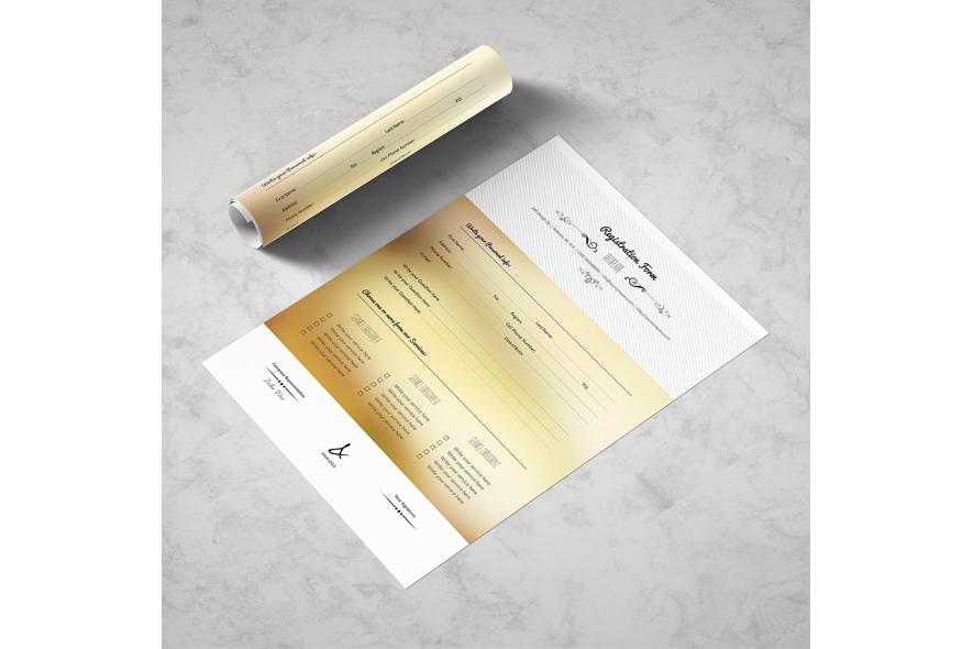 Registration Form Template v15 example image 4