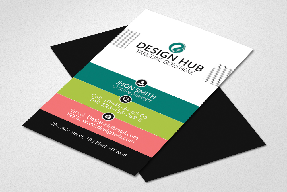 Vertical Business Visitig Cards example image 1