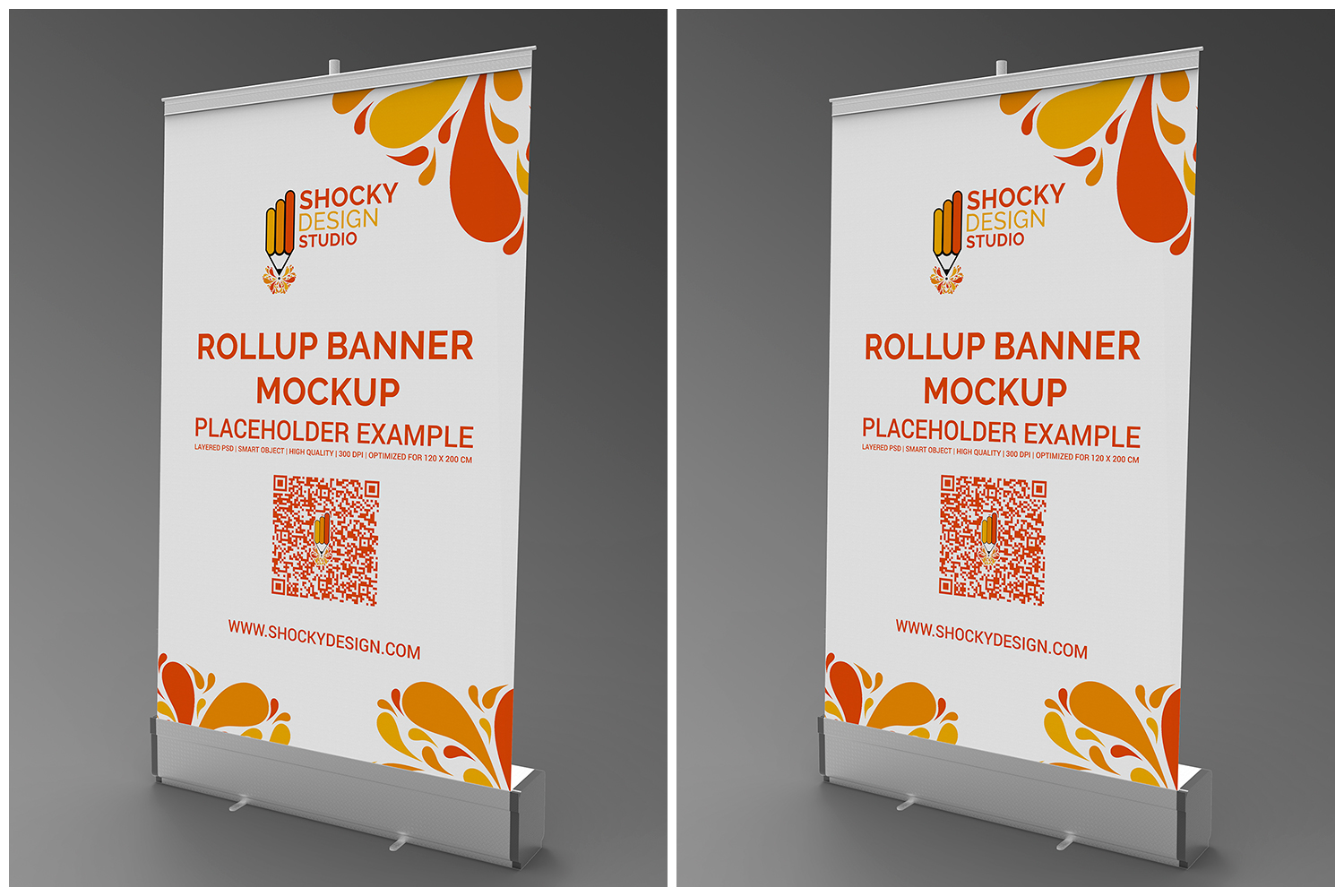 Rollup Banner Mockup example image 4