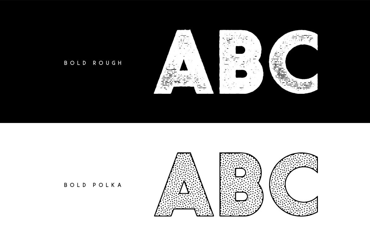 Visage Typeface example image 3