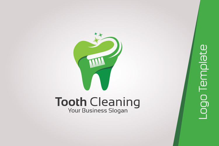 Dental Logo Template - Tooth Cleaning example image 2