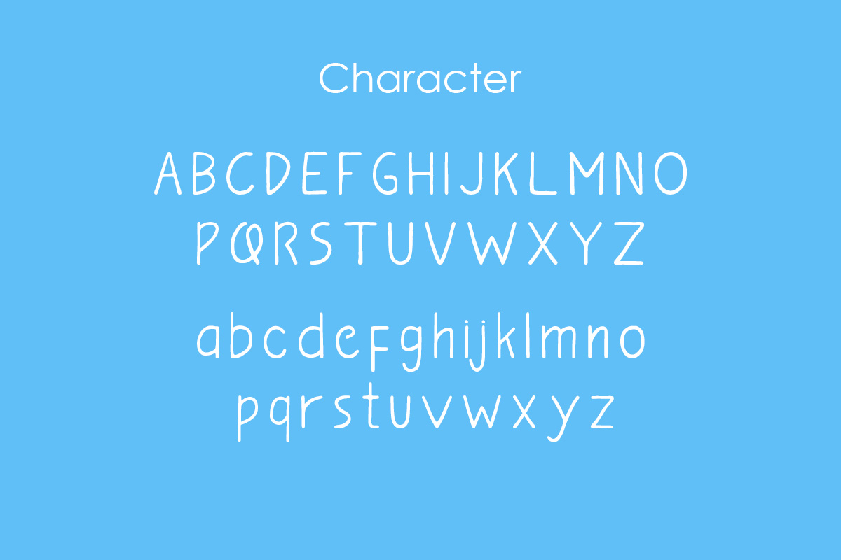 bananavia font example image 2