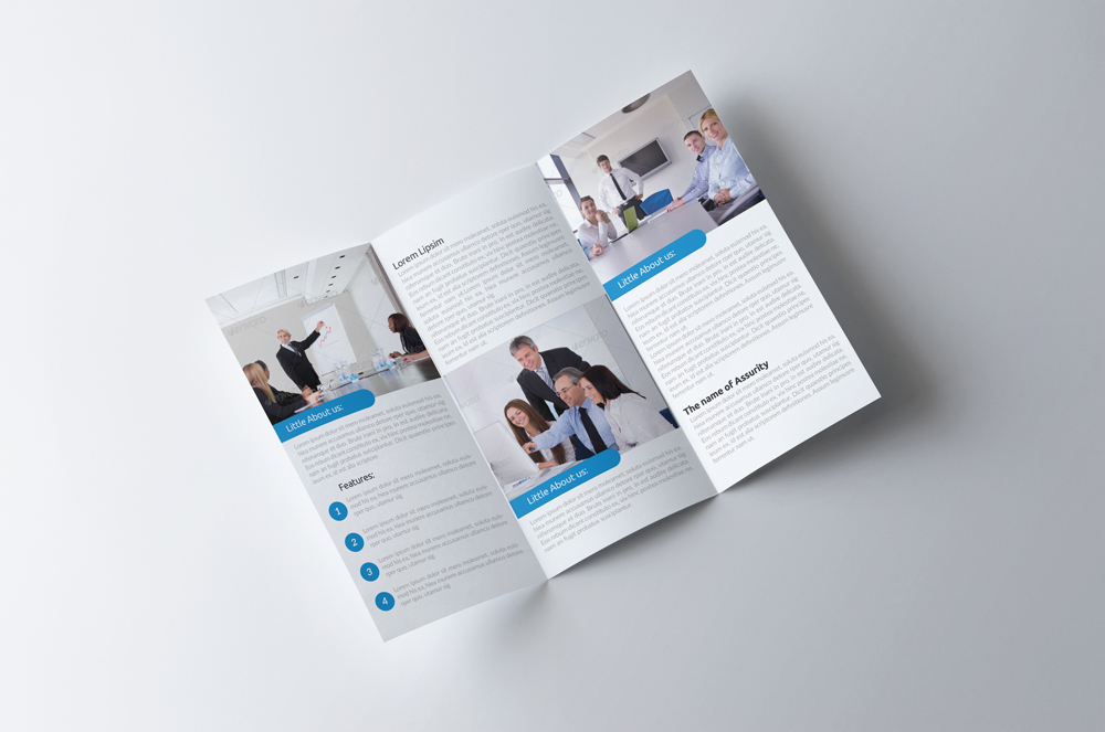 Business Innovation Trifold Brochure example image 2