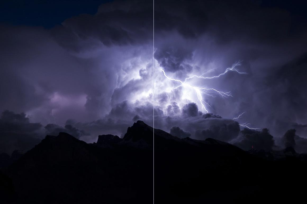 525 Rain, Snow, Lightning Overlays example image 8
