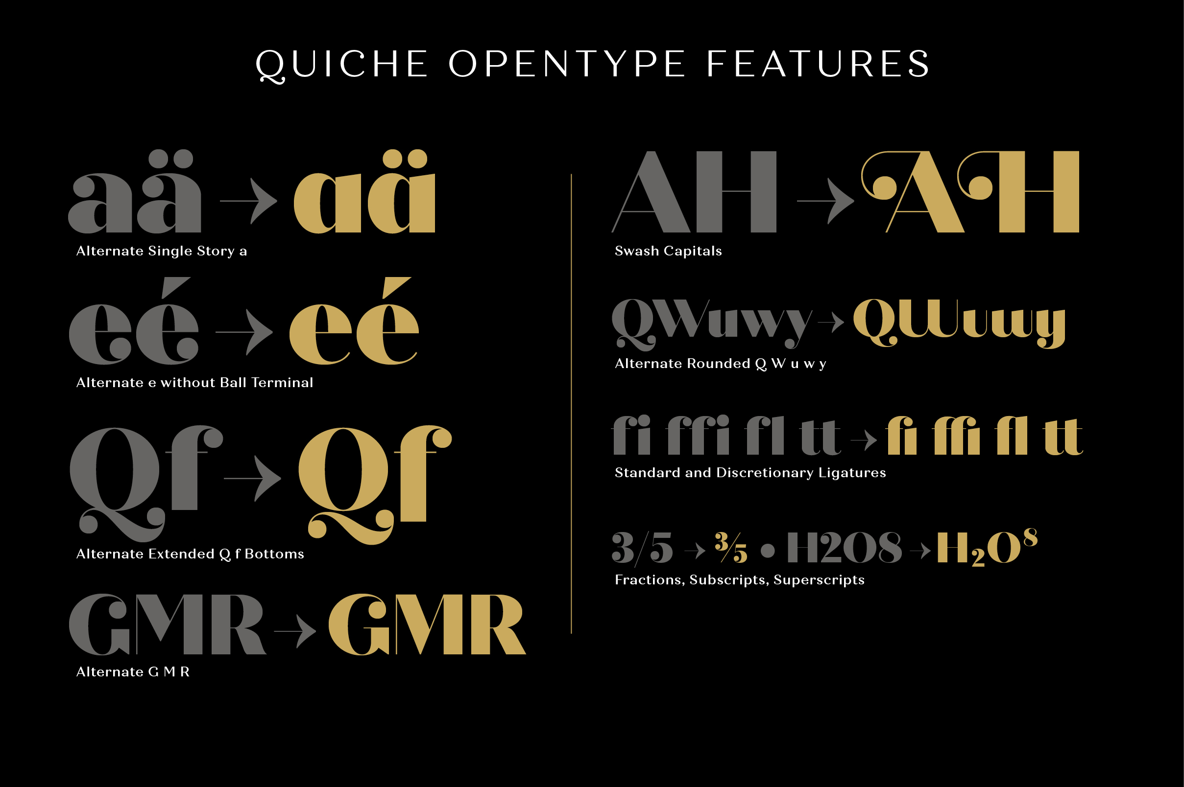 Quiche Fine Black Font example image 11