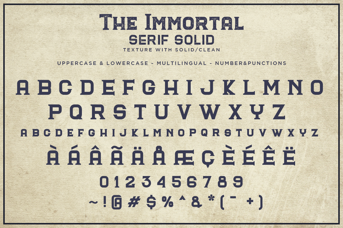 The Immortal // Vintage Collection example image 7