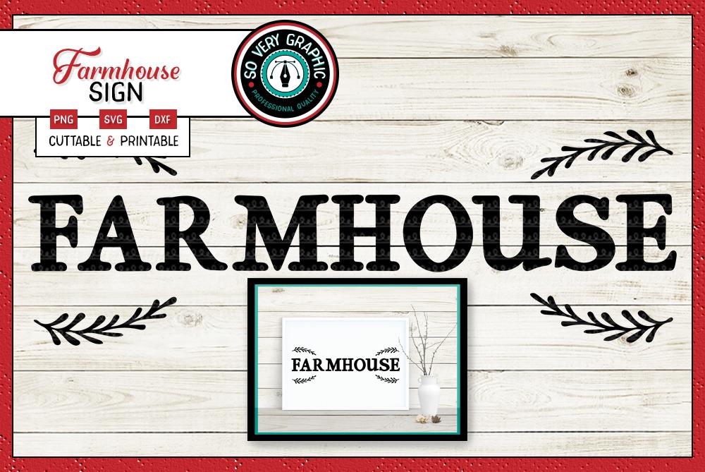 Vintage Farmhouse Bundle | Over 50 Designs | SVG Cut Files example image 9