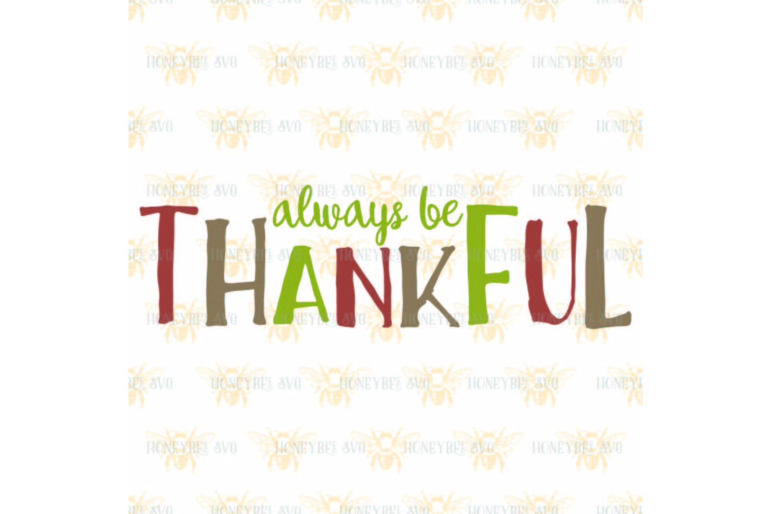 Always Be Thankful svg example image 2