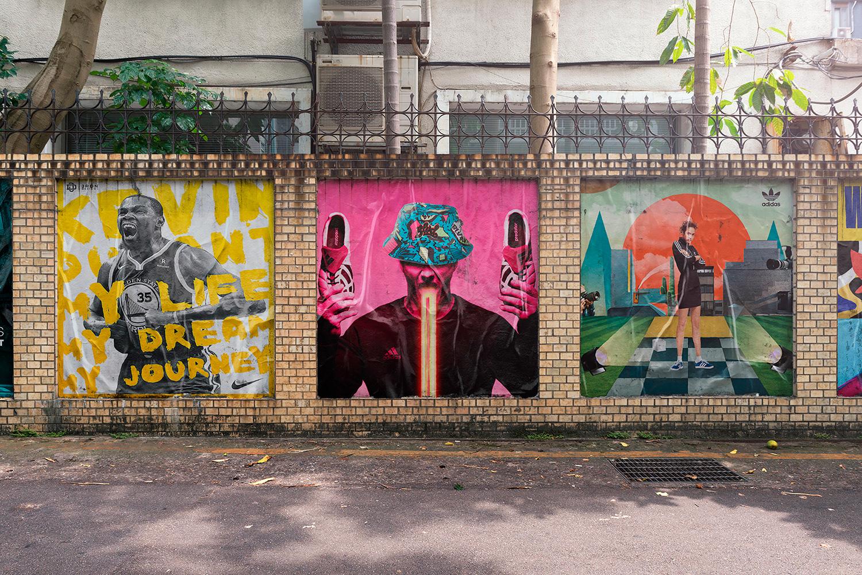 12 Realistic Mural Street Mockup - PSD example image 14