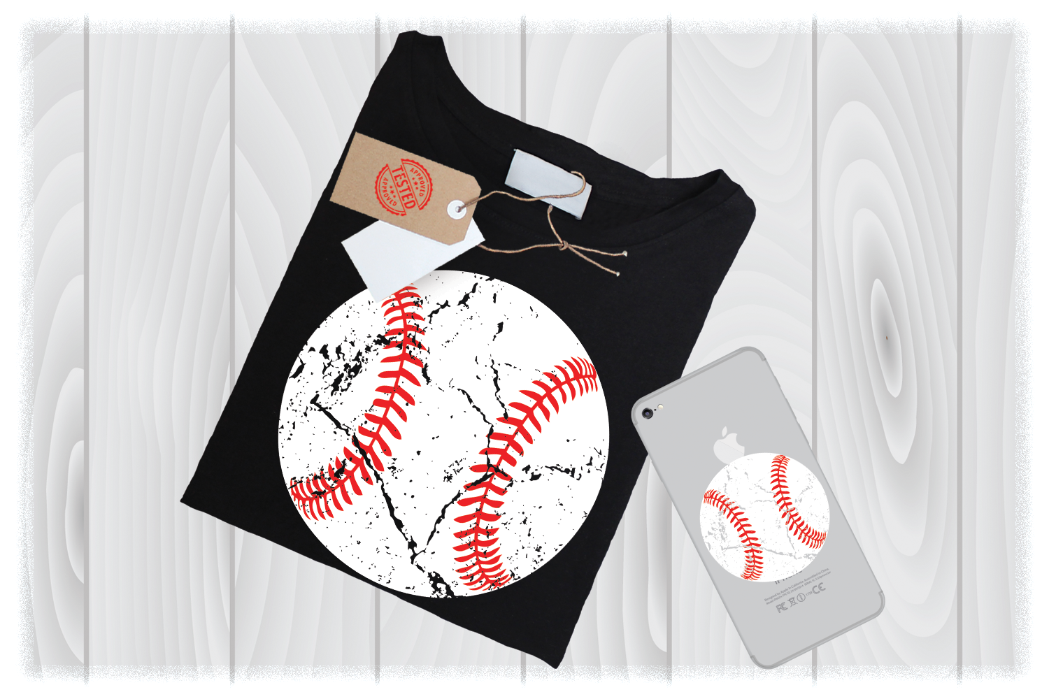 Distressed Baseball Svg Files For Cricut Designs | Sport SVG example image 1