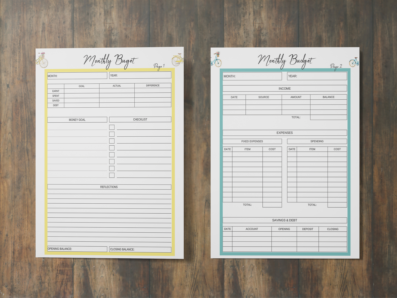 Life Planner Binder, Goal Planner Printable, Life Organizer example image 6