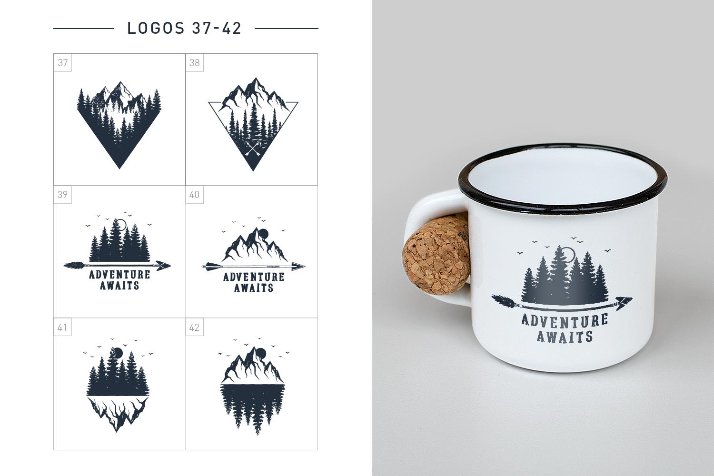 Nordicus. 60 Creative Logos example image 12