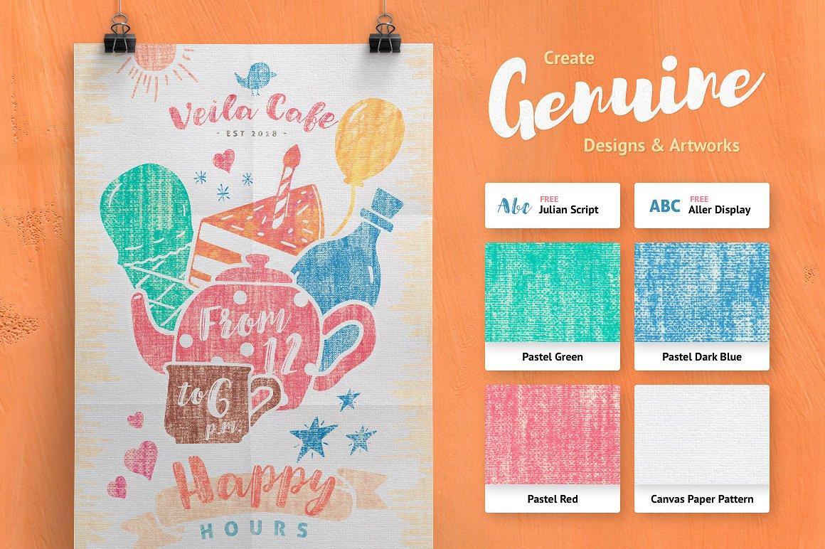 Artistic Studio: Pastel Toolkit example image 4