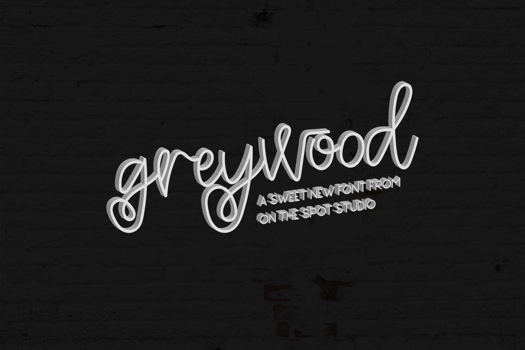 Greywood & BONUS Cedarwood Display example image 1