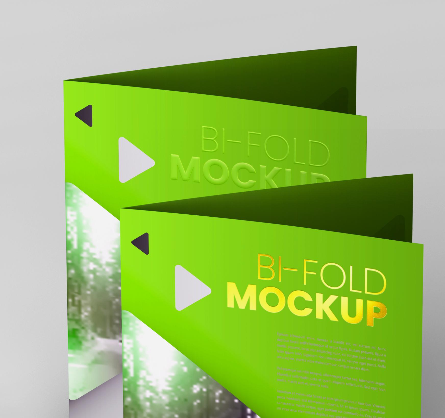 A4 Bifold Mockups V3 example image 24