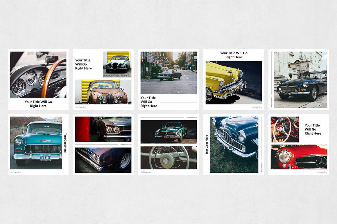 Classic Cars Instagram Posts example image 7