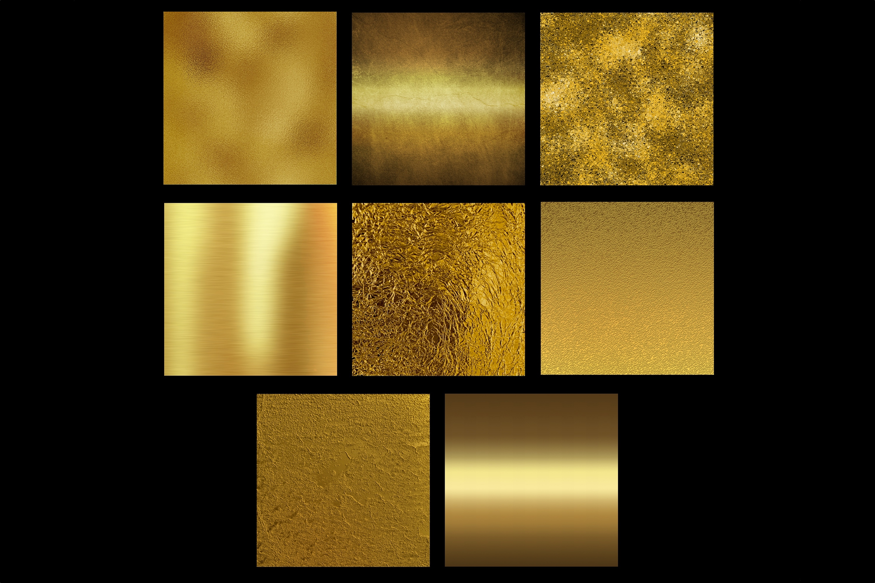 Gold foil textures example image 3